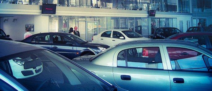 Автосалон Opel - Chevrolet